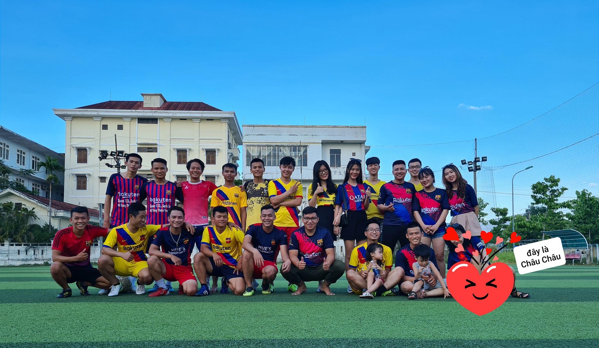 Giao hữu giữa FCB Đà Nẵng và FCB Huế