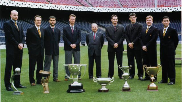 1997-1999. Đoàn quân của Van Gaal và cú đúp La Liga