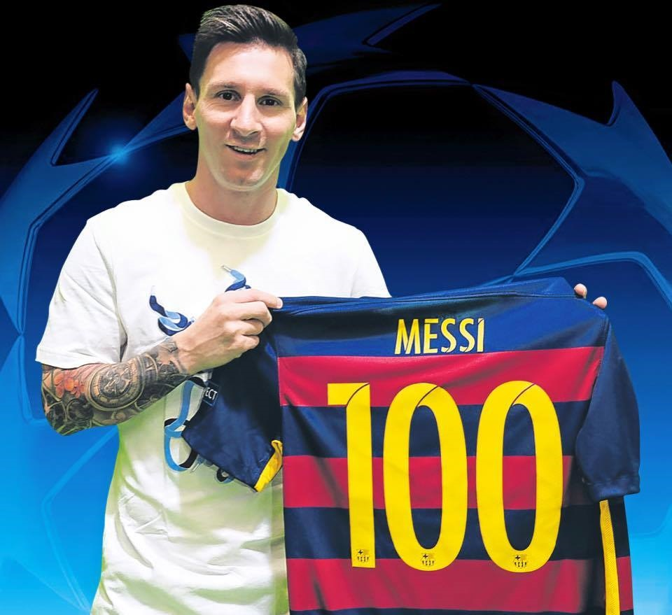 Messi-100-match-UCL