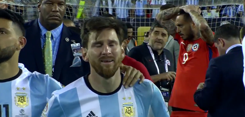 Messi-cry